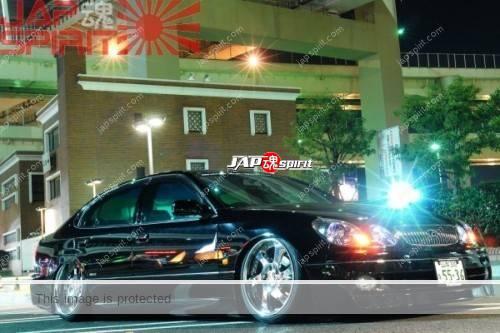 TOYOTA Lexus LS, VIP style custom, black. (1)