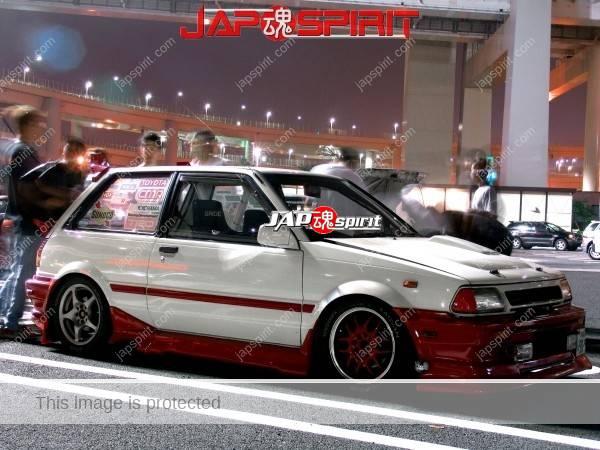 Photo of TOYOTA Starlet, substitute of AE86 for poor street racing geek, Hashiriya.