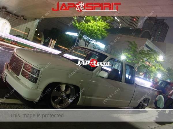 Truckin, white car @ Minatomirai (2)