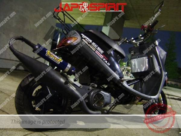 YAMAHA JOG, scooter, long wheel base custom (1)