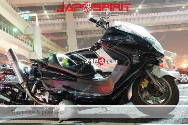 YAMAHA Majesty, Big scooter, very thick & tall maffuler (2)